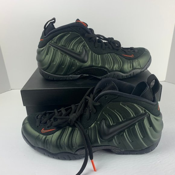 Nike Men/'s Air Foamposite Pro /'Sequoia/' Shoes 624041-304 SZ 9.5 No Box Top